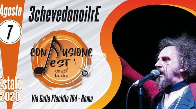 3chevedonoilrE in concerto al Confusione Fest