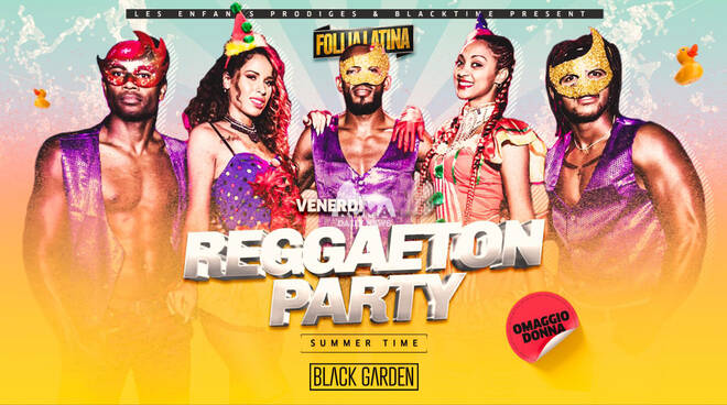 Follia Latina Reggaeton Party Black Garden