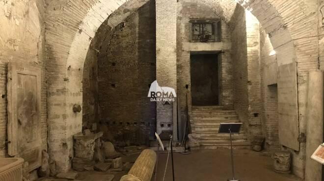 Visita ai sotterranei di S.Martino ai Monti