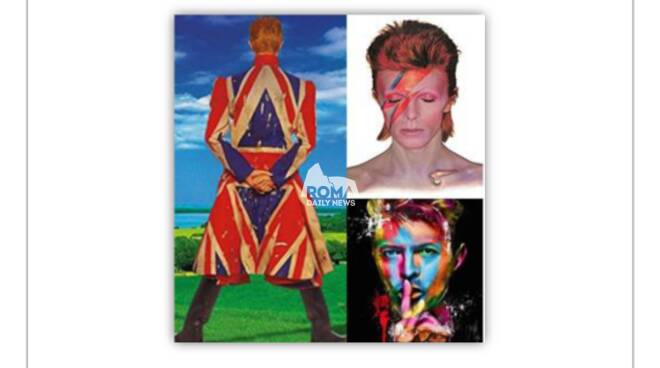 """Lezione/Concerto \""""David Bowie Story\"""" a Roma"""