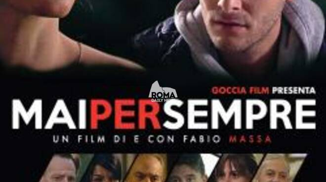 Lucia Batassa ed Emiliano De Martino al Cinema Nuovo Aquila per presentare il film Mai per sempre