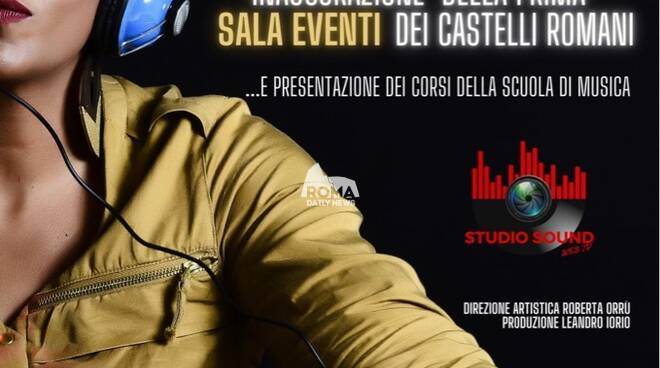 STUDIO SOUND INAUGURA LA PRIMA SALA EVENTI DEI CASTELLI ROMANI - OSPITE MICHELE PECORA