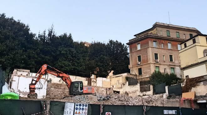 demolizione clinica san giorgio balduina
