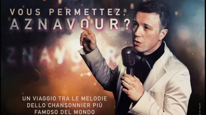 Locandina Vous Permettez Aznavour