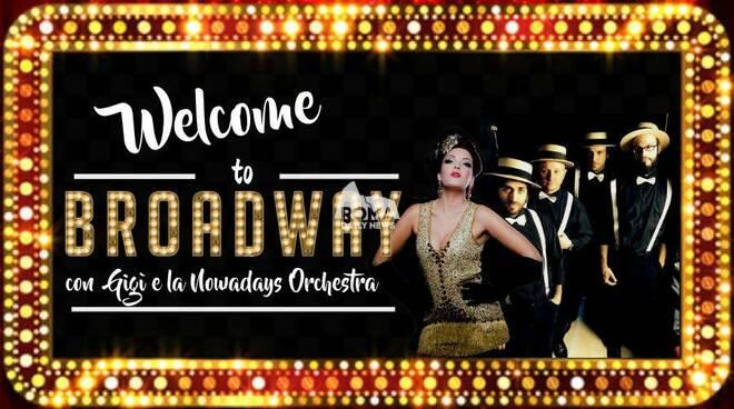 "Gigi & La Nowadays Orchestra \""Welcome To Broadway\"" in concerto al Cotton Club"