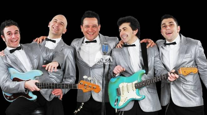 Bevo Solo Rock\'n Roll al Cotton Club: Four Vegas in concerto