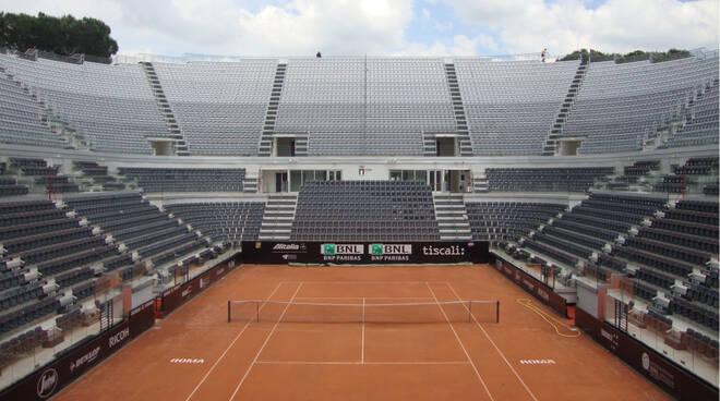 stadio centrale del tennis