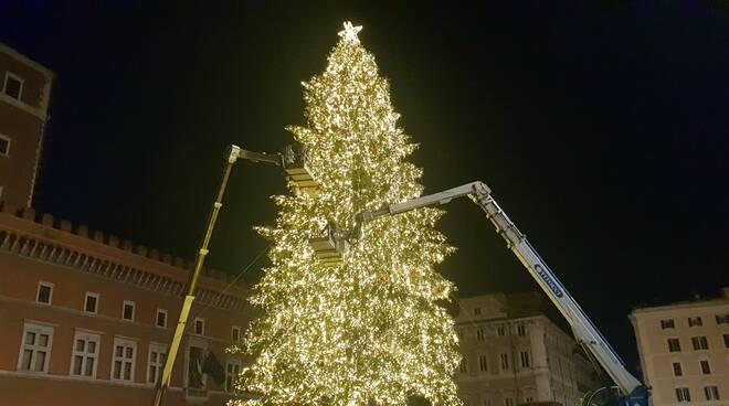 albero di natale piazza venezia