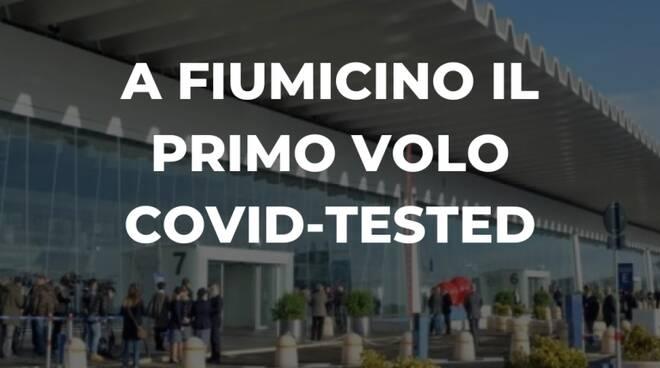 volo covid tested fiumicino new york