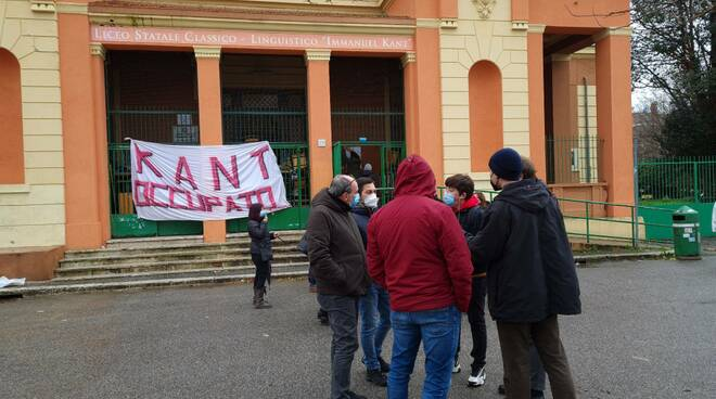 liceo kant occupato
