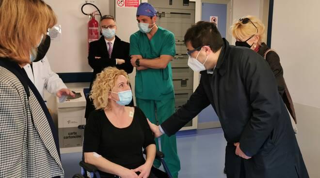 d'amato visita infermiera investita