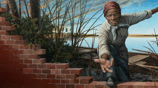 Murale Harriet Tubman