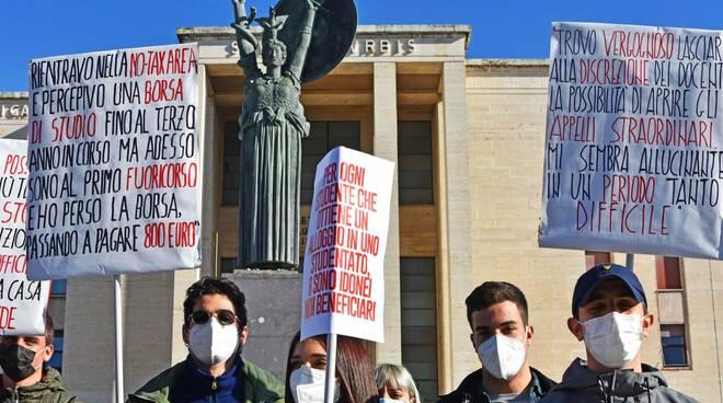 protesta studenti sapienza