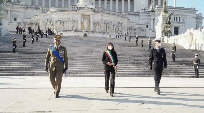 corona alloro natale di roma 2021