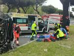 incidente cristoforo colombo ambulanzna