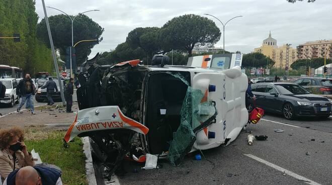 incidente cristoforo colombo ambulanzna