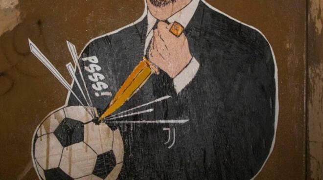 murales andrea agnelli superlega
