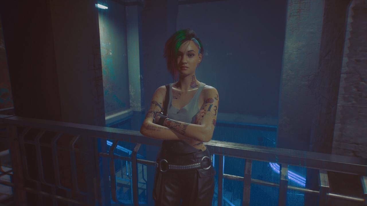 Cyberpunk Judy