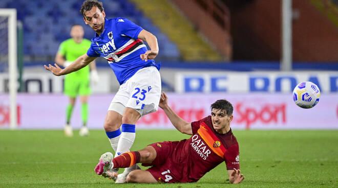 sampdoria-roma 2-0