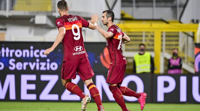 spezia-roma 2-2