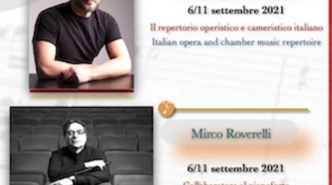 """Master Classes  \""""Sonorità Italiana nel mondo\"""" 2021"""