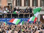 festeggiamenti italia campione d'europa