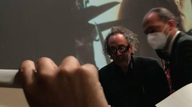 Tim Burton alla Festa del Cinema di Roma