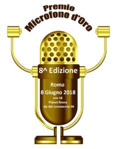 Microfono d'Oro: l'8 giugno al Planet Roma l'8^ edizione
